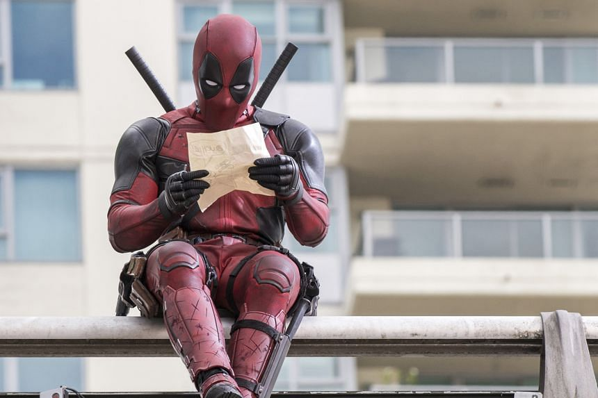 """The mercenary Deadpool, as a """"Merc with a mouth"""", spouts pop-culture references, even in mid-battle."""