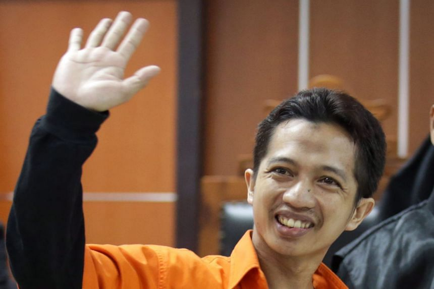 Tuah Febriwansyah (top) got the heaviest sentence of five years' jail. Ahmad Junaedi (above) will serve three years in jail.