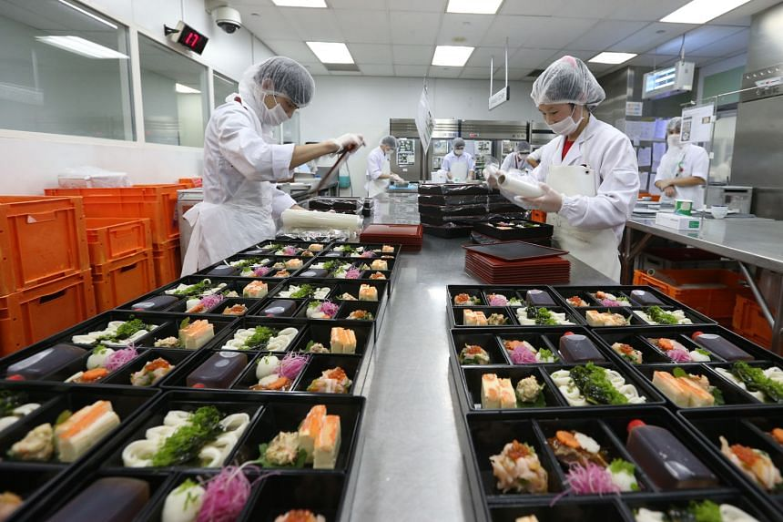 Contributions from the food solutions segment at Sats fell 7.1 per cent to $251 million following the transfer of the food distribution business to the joint venture company Sats BRF Food in June.