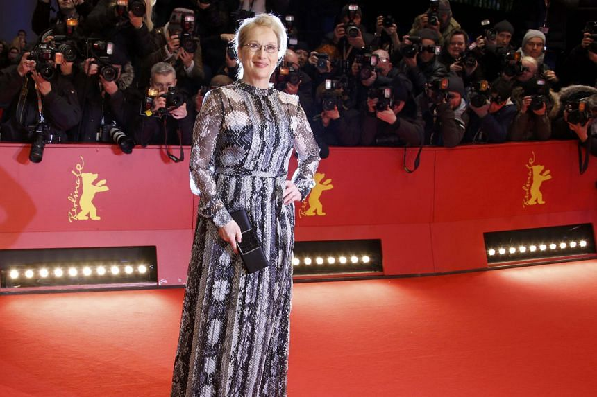 Meryl Streep at the opening of the 66th annual Berlin International Film Festival.