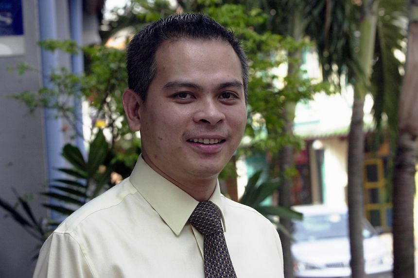 Dr Michael Leong in 2002. He founded ShareInvestor in 1999 and sold it to SPH nine years later for up to $18 million.