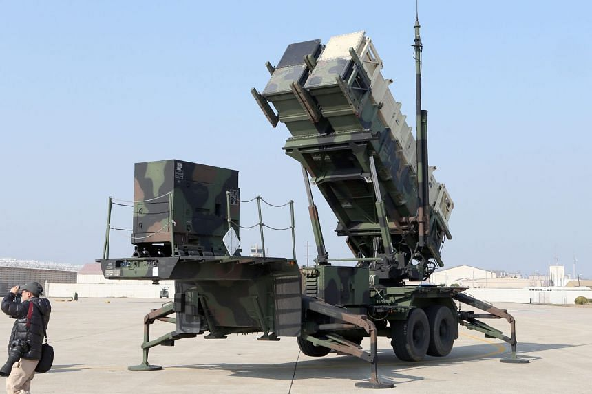 "US Forces Korea said yesterday the deployment of additional Patriot missile systems (above) was in response to ""recent North Korean provocations""."
