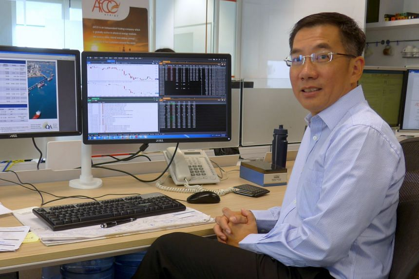 Mr Lim of Afco Petrochemicals says competent traders should be able to take advantage of the market, whether it is in a cyclical upturn or downturn.
