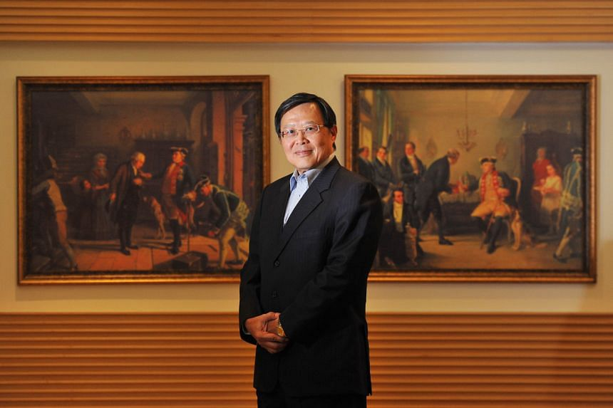 Mr Ho, Rothschild's new non-executive chairman for South-east Asia, at his office. His long and distinguished career has seen him weather two financial crises and a terror attack.