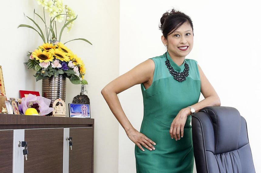 Strontium CEO Vivian Singh. The firm's business in India has taken off since the advent of e-commerce. Ms Jayanthi Manian, director of oil and gas equipment company Chase Resource Management, says that Singapore firms tend to hesitate over venturing