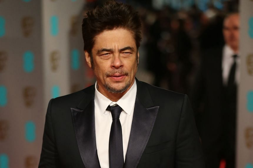 Joining the cast for the next episode of Star Wars are Benicio Del Toro (above), Kelly Marie Tran and Laura Dern.