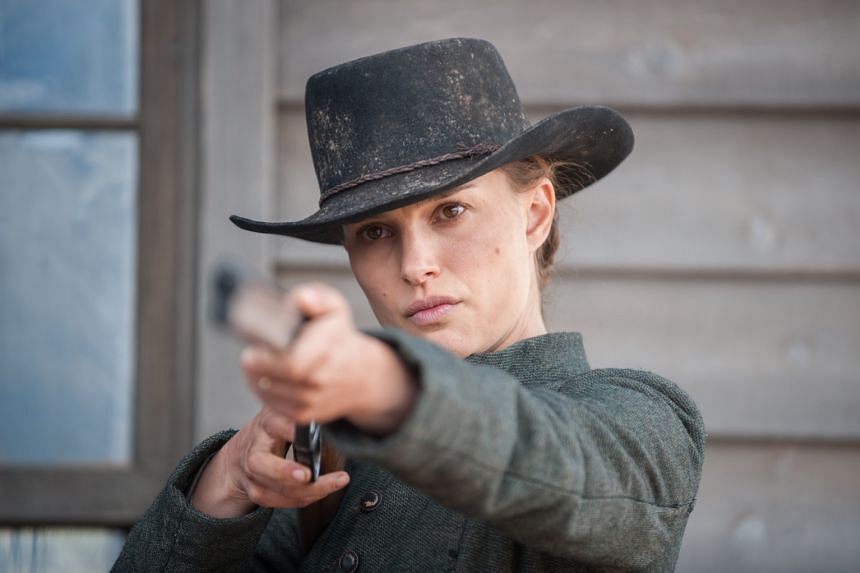 Natalie Portman takes charge as Jane, a woman who has to protect her family against an aggressor from their past.