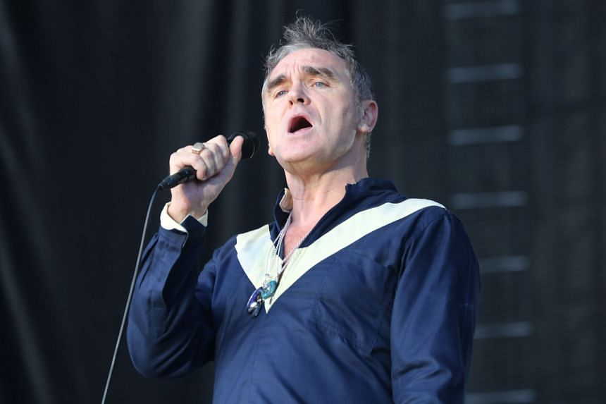 Singer Morrissey is a vegetarian who speaks up for animal rights.