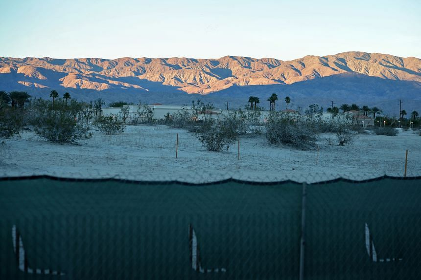 A view of the desert from Sunnylands in California, venue of this week's US-Asean summit.