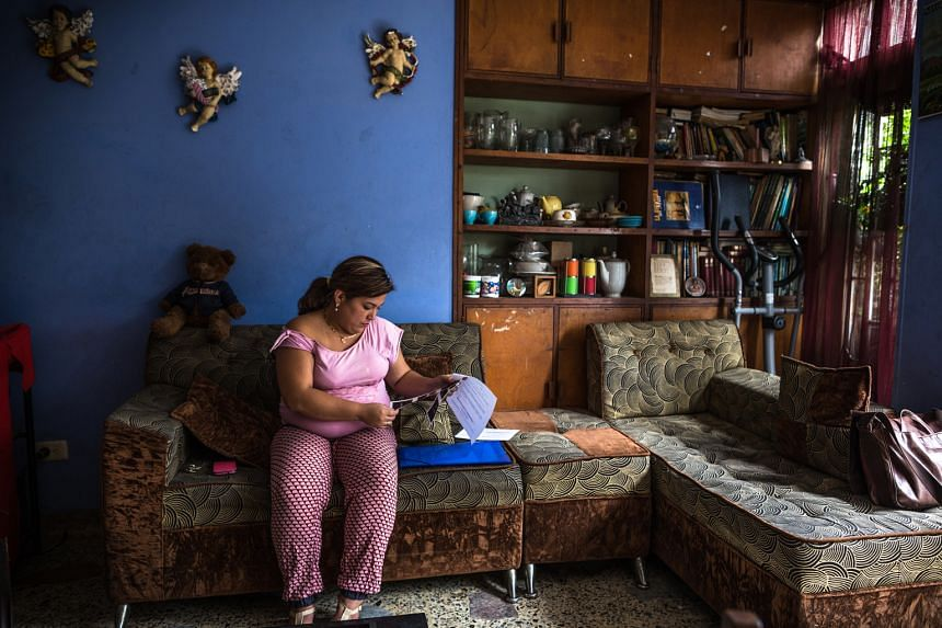 Ms Barrios, who is pregnant with twins, is one of at least 25,000 Colombians who have contracted the Zika virus. The 24-year-old, who says her doctors offered her an abortion, has since recovered and an ultrasound shows that her babies are developing