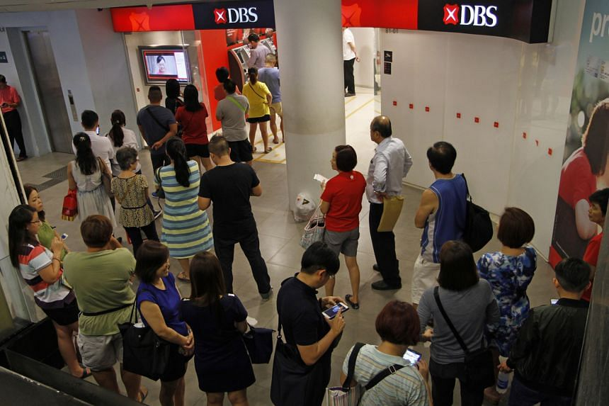 Investors will be looking for signs of deterioration in the quality of DBS' loan portfolio when its results are released before the market opens today. OCBC Bank and UOB have largely met analysts' expectations.