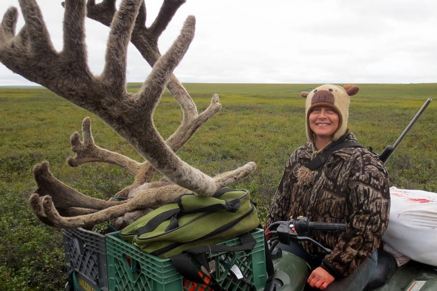 Growing up alone in the wild, Sue Aikens learnt to hunt for food.