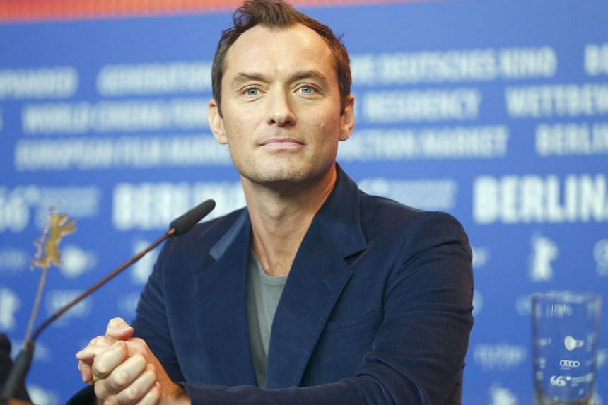Actor Jude Law (above) helped organise a petition asking British Prime Minister David Cameron to press France to delay the demolition of the migrant camp in northern France.