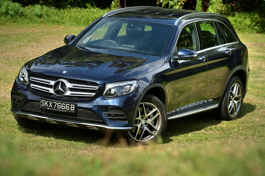 The Mercedes- Benz GLC250 has plenty of torque and sharp steering.