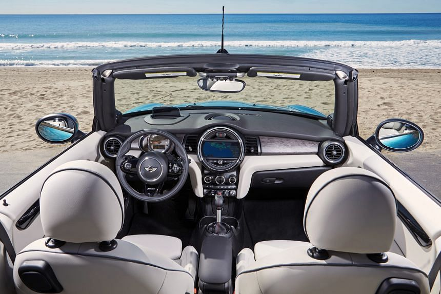 The new Mini Cooper S Convertible is bigger than the previous model and it reaches the century mark faster too.