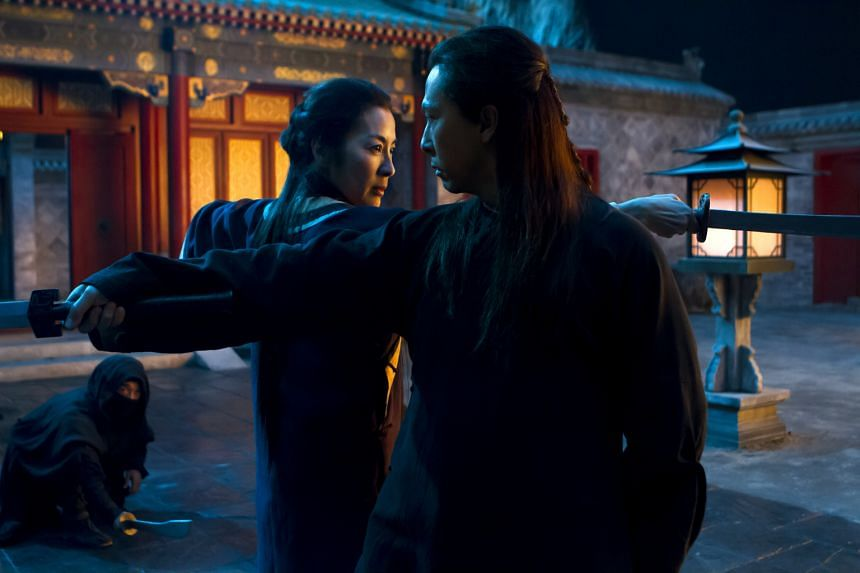 Donnie Yen, as Silent Wolf, is the new old flame to Michelle Yeoh's (both above) swordswoman in Crouching Tiger, Hidden Dragon: Sword Of Destiny.