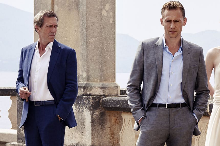 Tom Hiddleston (above right, with Hugh Laurie).