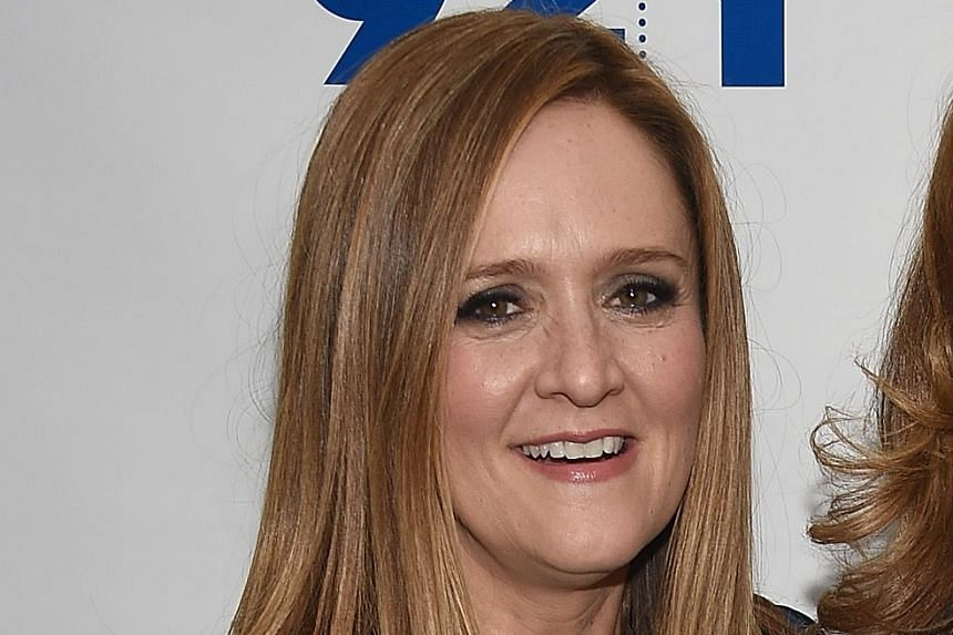 Comedienne Samantha Bee.