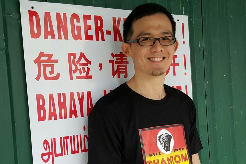 Loh Guan Liang released his poetry collection, Bitter Punch, last month