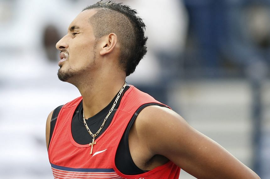 Nick Kyrgios reacted with a vitriolic tweet after Bernard Tomic questioned his Davis Cup absence over the weekend.
