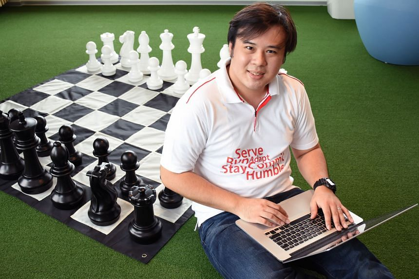 Good engineers are those who have the interest and drive to improve their skills, says Mr Lee, who leads a team of iOS coders at gaming and media platform Garena.