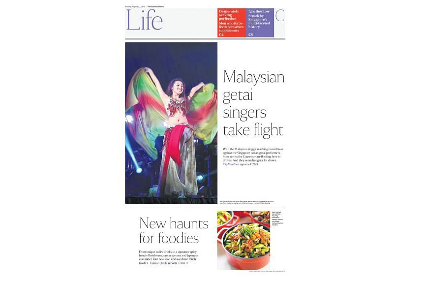 """Design consultant Lucie Lacava said the award recognised the redesign as being """"state of the art"""" and that it stood out from its competitors. The Straits Times picked up three awards of excellence for its new look at the 37th edition of the Best Of N"""