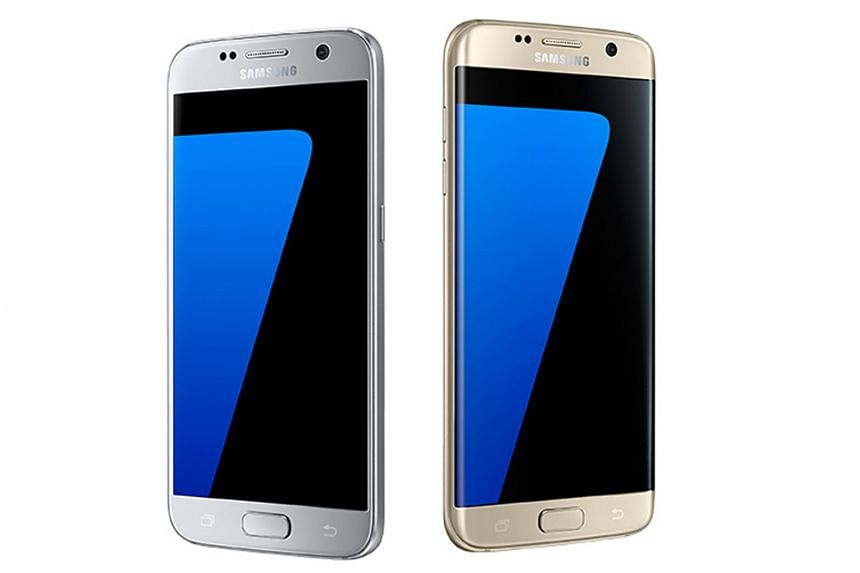 The hardware and software improvements in the S7 (far left) and S7 edge make them the top Android devices in the market now. Aside from the larger screen and bigger battery, another difference between the S7 edge and S7 is the edge panel display.