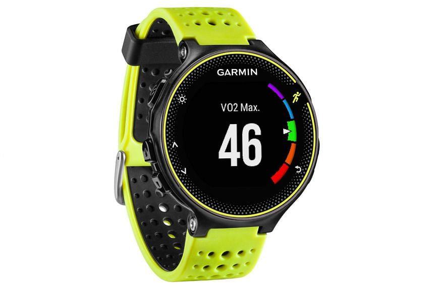 The 230 does not come with a built-in heart rate monitor, unlike its pricier cousin, the 235. Made of plastic and rubber, it lacks premium build quality and wow factor.