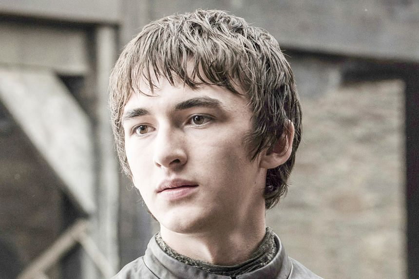 Isaac Hempstead Wright in Game Of Thrones.