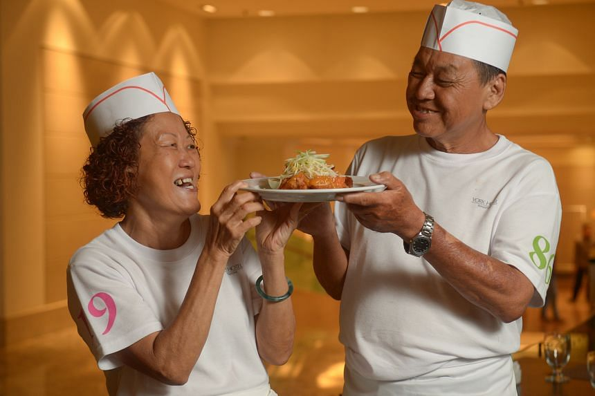 MADAM LIM YANG SEE, 57, who will be serving up hawker fare with her husband, Mr Ang Kean Teik, 65