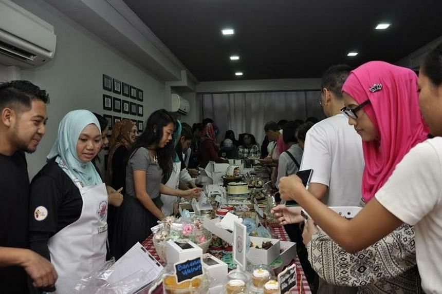 Last year's charity bake at Al Qudwah Academy, which sold out in three hours. The sale raised more than $8,000 to provide meals to two orphanages and goodie bags to 600 needy families.