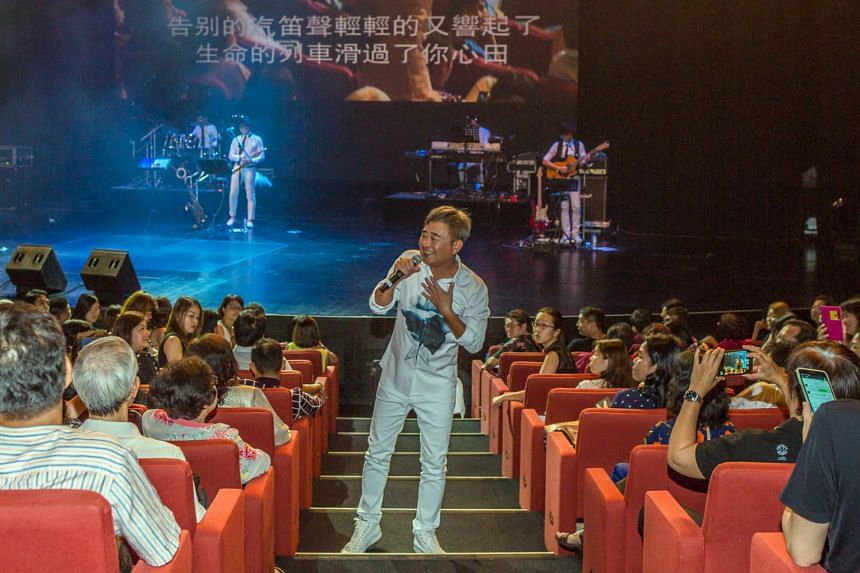 Bobby Chen Sheng is eager to please, cracking jokes, dancing and posing for a selfie.