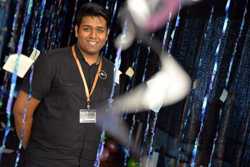 Mr Vishnu, who worked with four Singapore Polytechnic classmates to stage the interactive play, in(VISIBLE), believes theatre has a role to play in transforming social perceptions.
