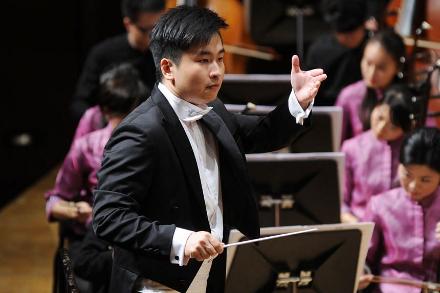 Moses Gay is assistant conductor of the Singapore Chinese Orchestra.