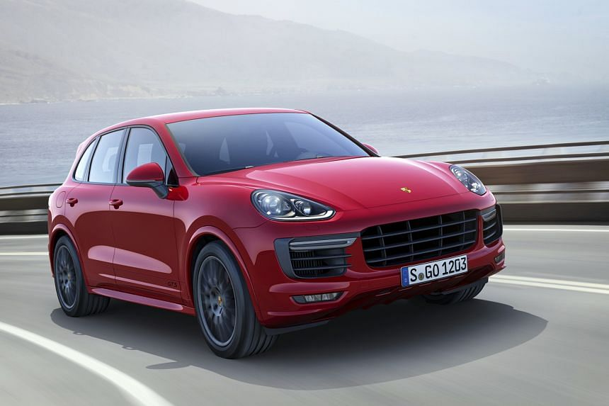 The Cayenne GTS hits the century mark in 5.1 seconds.