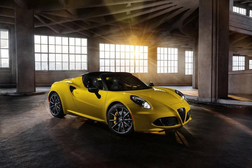 Cars made today that are likely to become collectors' items include the BMW M2 and Alfa Romeo 4C Spider (above).