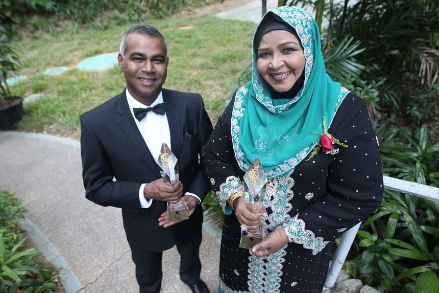 Mr Veera and Ms Beevi are among the 90 outstanding entrepreneurs who received awards on Saturday. Mr Veera did not give up even when the financial crisis took a toll on business and Ms Beevi struggled for years before her restaurant became a success.