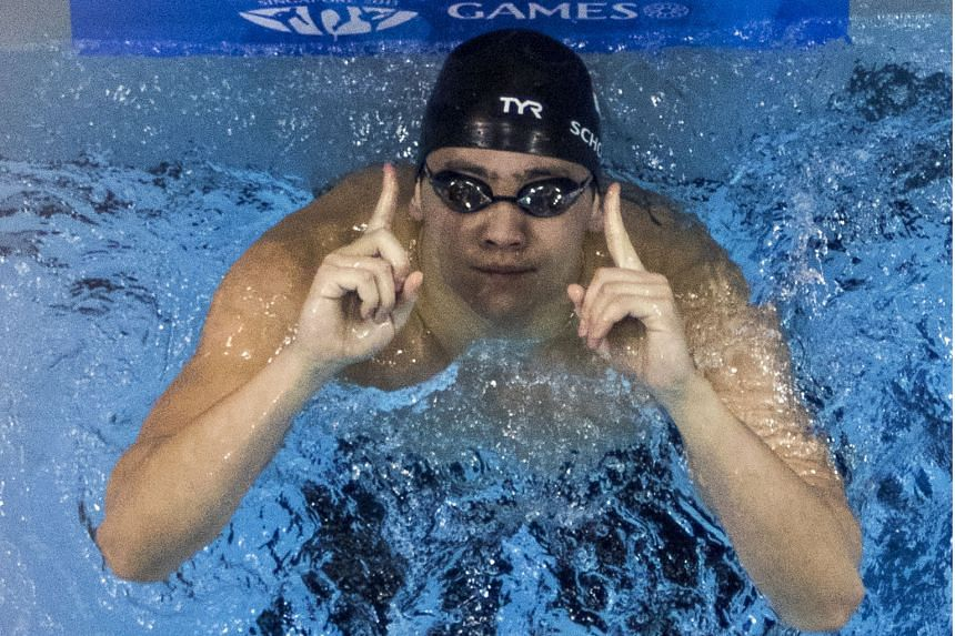 """Joseph Schooling, who wants an Olympic gold medal, says: """"The pressure I put on myself outweighs trying to carry Singapore on my back."""""""