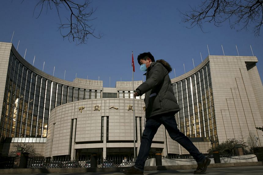 "The People's Bank of China in Beijing. An official from the central bank e-mailed the US Fed on July 27 for assistance and a representative also messaged a senior Fed staff member, pointed to the day's 8.5 per cent drop in Chinese stocks and said ""my"