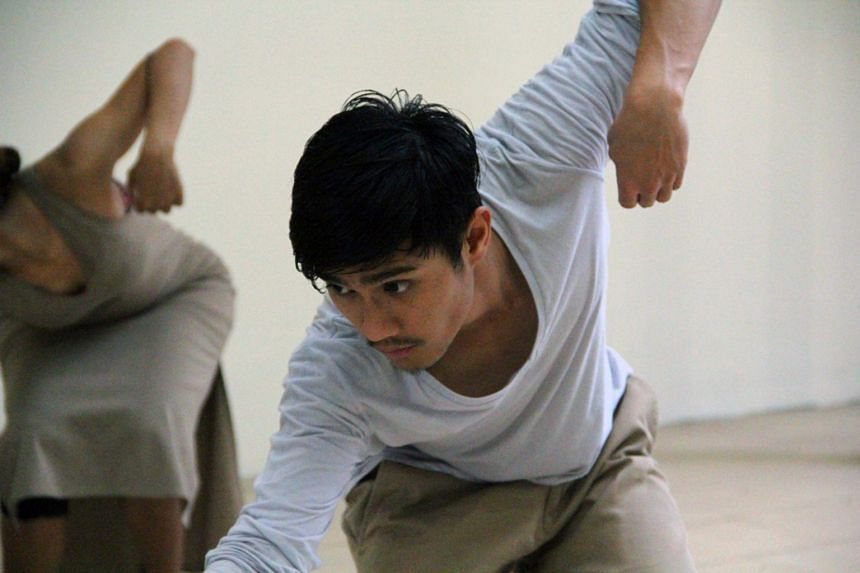 Dancer- choreographer Norhaizad Adam says dealing with mistakes helps him become a better performer.