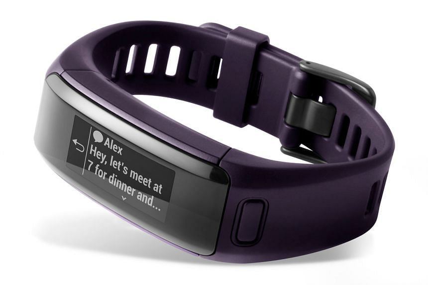 The Vivosmart HR gets a design overhaul from its predecessor and looks sleek and unobtrusive.