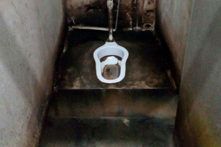 At Ama Keng Hostel, seven in 10 toilets cannot be flushed properly.