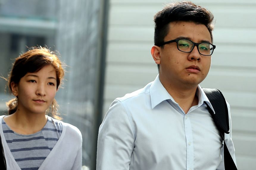 """Takagi (left) pleaded guilty over several inflammatory articles posted on The Real Singapore website, while Yang claimed trial, saying his involvement lasted only about a month in 2012 and was """"ad hoc"""" after that."""