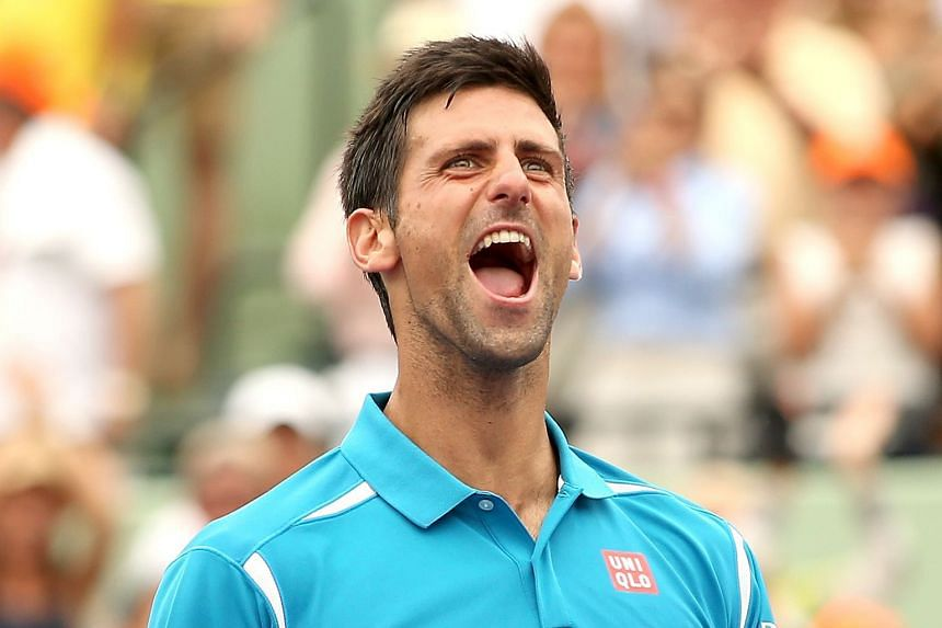 Having scooped the year's first Grand Slam at Melbourne Park and following that up with back-to-back wins at Indian Wells and Miami, Novak Djokovic is tightening his stranglehold on men's tennis.