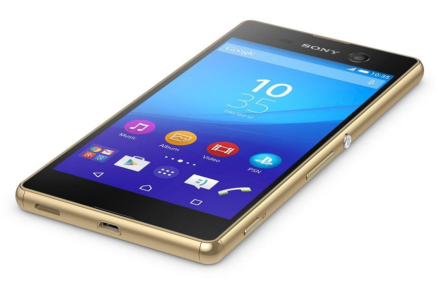 The water- and dust-resistant M5 is one of the more compact phones on the market.