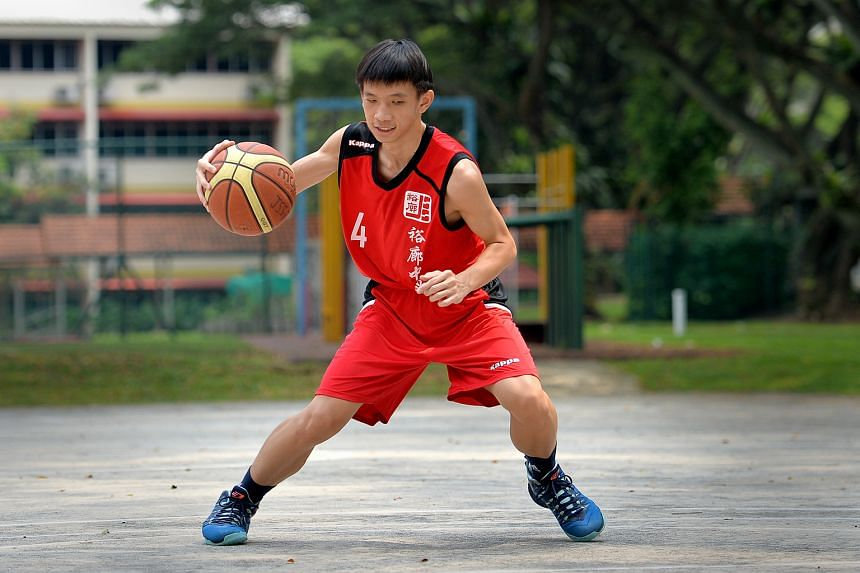 He had his pick of popular schools, but Chua Qi Wei chose Jurong Secondary School because of its distinctive programme in basketball.