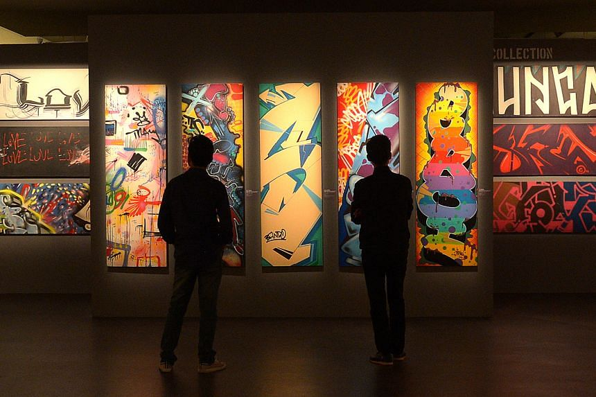 The art museum's latest exhibition that traces the rise of graffiti as an art movement was meant to run till June 25.