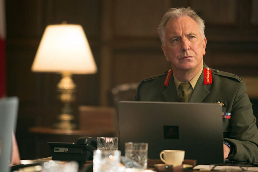 Eye In The Sky, which stars the late Alan Rickman (above), is directed by Gavin Hood.