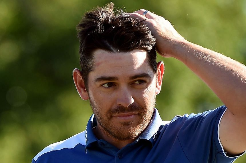 Louis Oosthuizen was one of three players to ace the 16th hole at the Masters on Sunday.