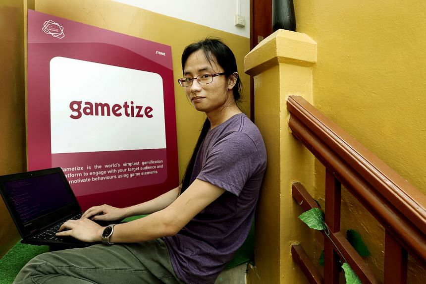 """Mr Tan, who interned with Gametize as an undergraduate in 2012, joined the company after graduating two years ago. The software developer says it can be challenging for fresh grads to enter the market, and """"internships can help them get the skills an"""